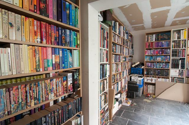Bibliotheek, een stuk, niet gesorteerd