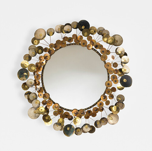 Curtis Jere, Mirror, 1976, Lot 184