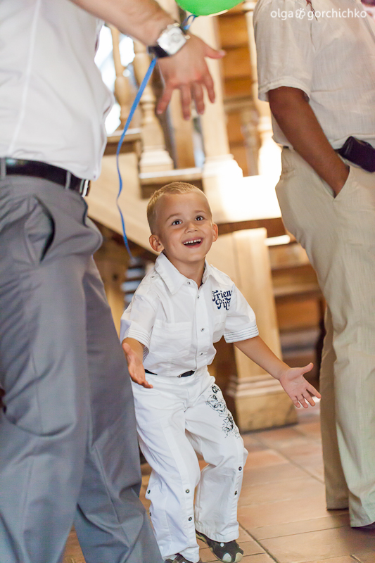 Празднование крещения Егора