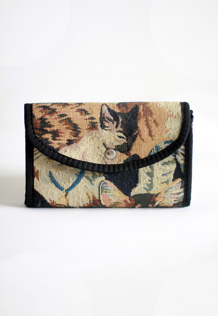Tarte Vintage via shoptarte.com: cat lady clutch