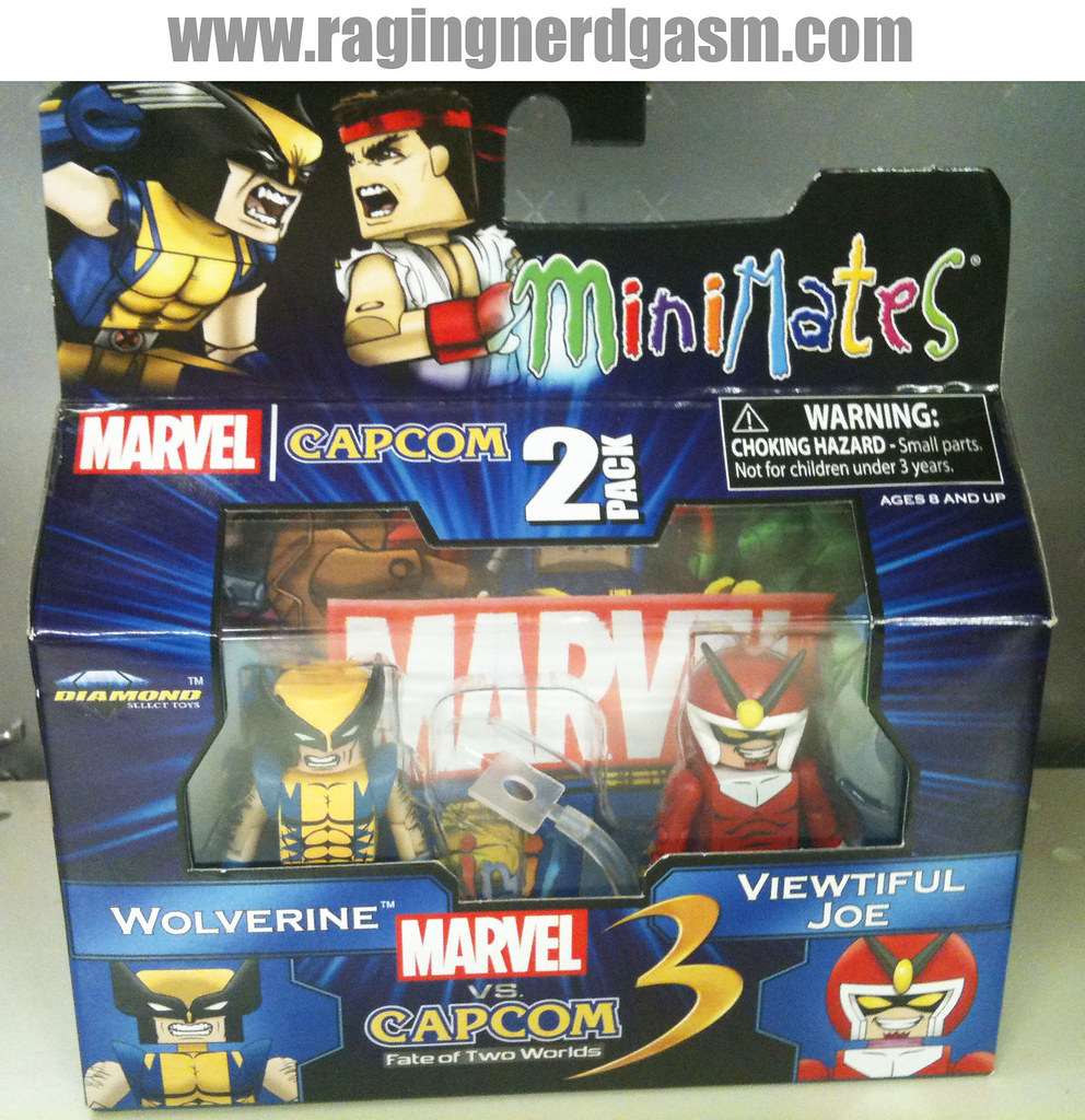Minimates Marvel vs Capcom 3 004