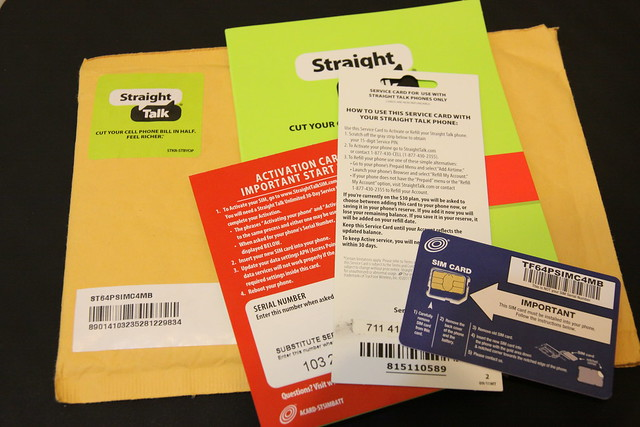 StraightTalk Activation Kit