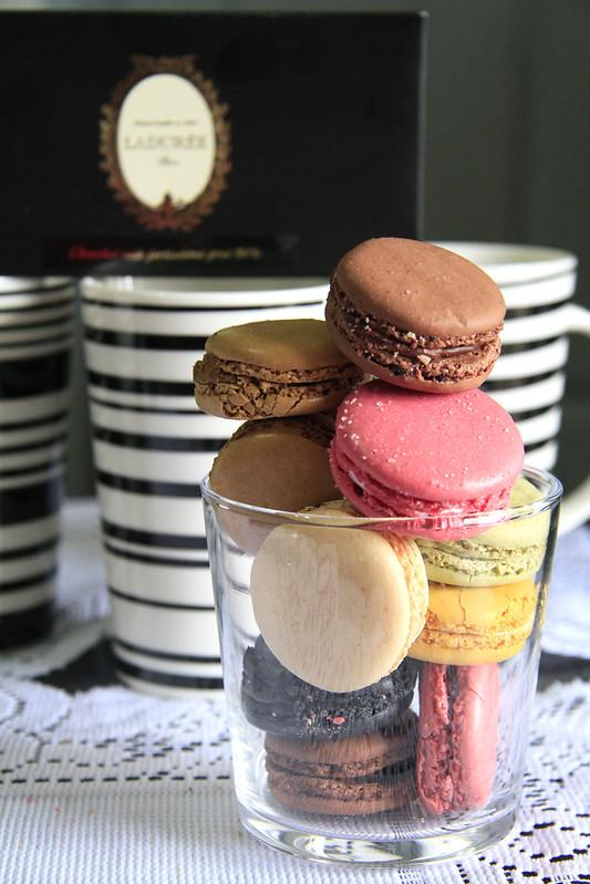 Ladurée Macarons & Chocolate Bars