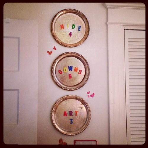Sunday Scramble: Make as many family-friendly words as you can using A E I O & D G H N R T S W