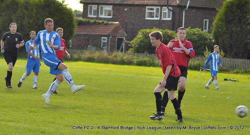 Cliffe FC 2 - 4 Stamford Bridge 22Sept12