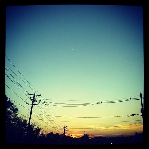 WPIR - Friday sunset