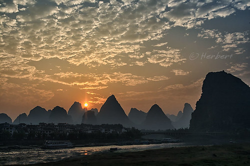 Yangshuo sunset