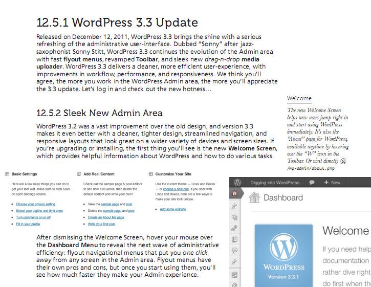 Miễn phí ebook học WordPress Digging to WordPress 211