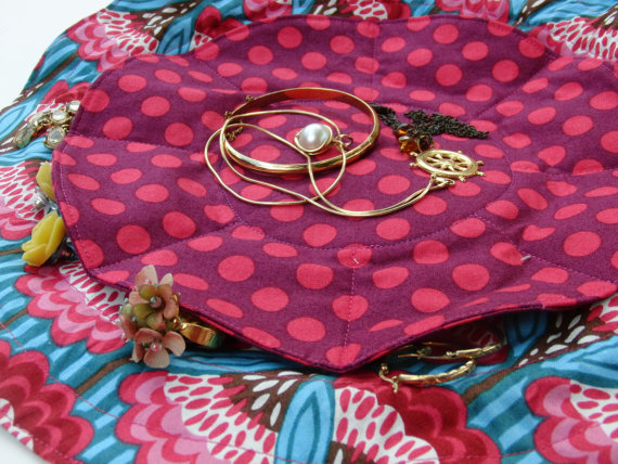 New Pattern: Weekender Jewelry Pouch