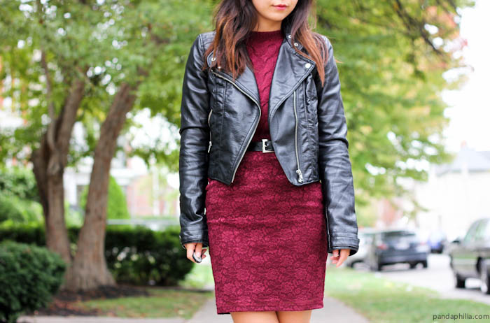 leather and oxblood