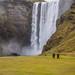 Skogafoss  falls by Jan Herremans