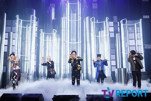 Big Bang - Mnet M!Countdown - 07may2015 - TV Report - 02