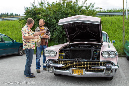 2014 Cadillac Big Meet, cruising