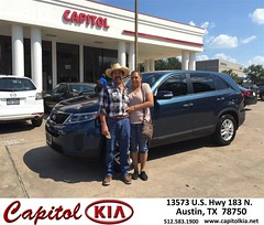 Happy Anniversary to Benjamin on your #Kia #Sorento from Ivan Rodriguez at Capitol Kia!