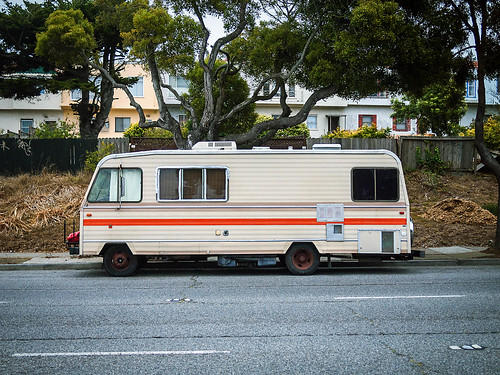 Street Parking: RV by the other Martin Taylor