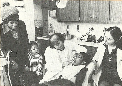 1975 At Brooklyn Jewish Hospital, NYC (Christina Armstrong)