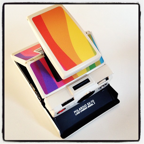 Want to see the coolest camera ever? TIME ZERO SX-70
