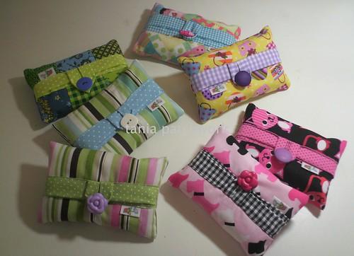 Porta lenços de bolso..... by tania patchwork