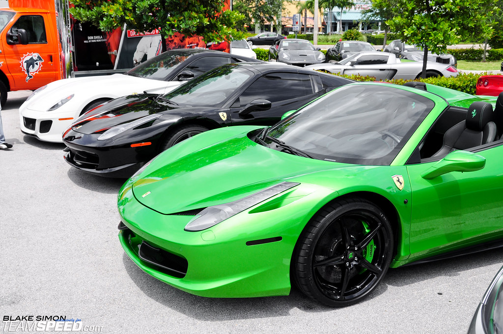 Ferrari 458 Lime Green