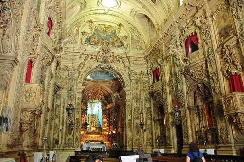 Interior da Igreja da Venerável e Arquiepiscopal Ordem Terceira da Nossa Senhora do Monte do Carmo