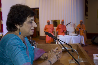 Prof. Kiran Walia delivering her address