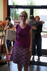 Paula with her lovely A-line skirt by hollybroadland