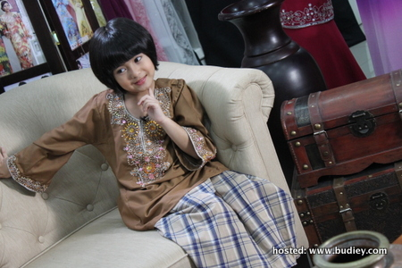 Ceria Lebaran Program Fesyen Kanak-Kanak Popular - Sensasi Selebriti