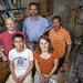 Professor James Heyman and his team of undergraduate research students, including Minh Nguyen '14, Maggie Molter '14, Aaron Laursen '14, and Bante Alebachew '13.