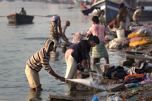 Laundry in the Ganges