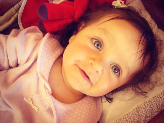 Minha sobrinha Larissa, com 9 meses!!!