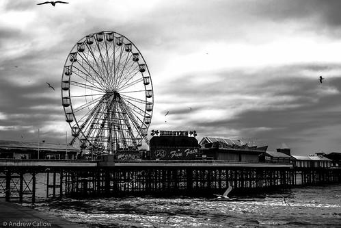 Blackpool Pier_B&W-1