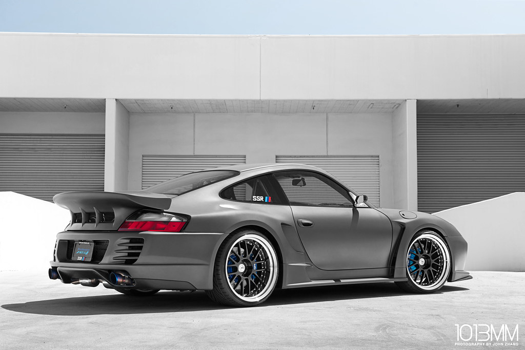 SSR Wheels Top Secret Widebody Porsche 996
