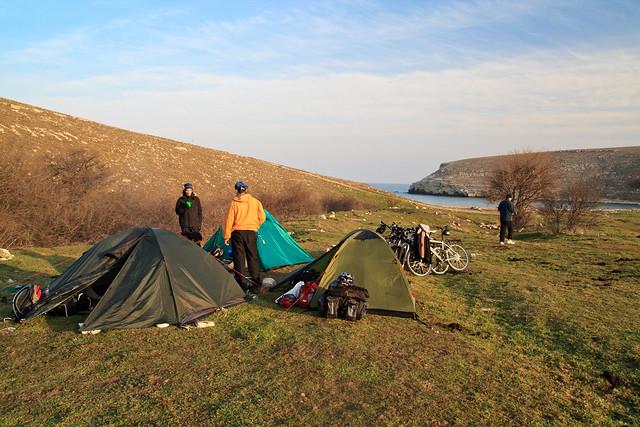 Morning at the camp 2