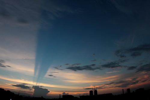 omiya strange sunset