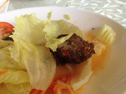 香椰沙爹牛肉
