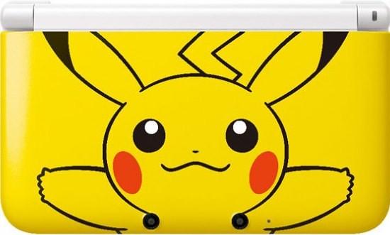 Nintendo DS XL Ganha Edição Especial do Pikachu! Confira!