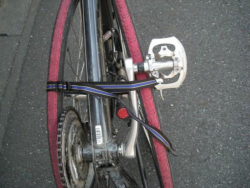 輪行袋内での安定性検証