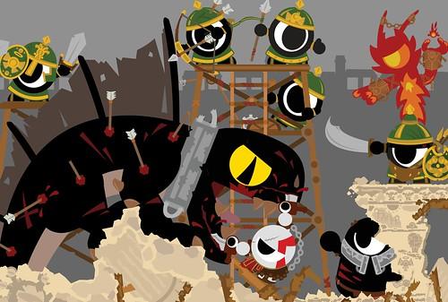 1. Nills van Dammen - Gamescom Art Contest