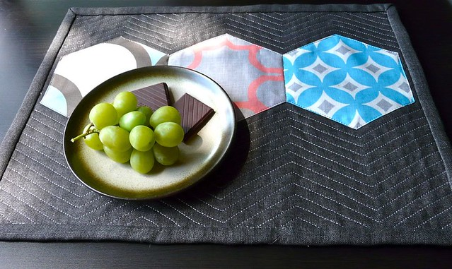 Giant Hexie Placemat