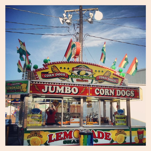 North Texas State Fair Denton Corn Dogs Stand Img 0045