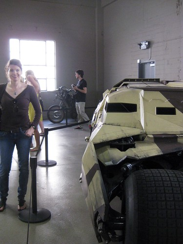 Me with the Tumbler from The Dark Knight Rises