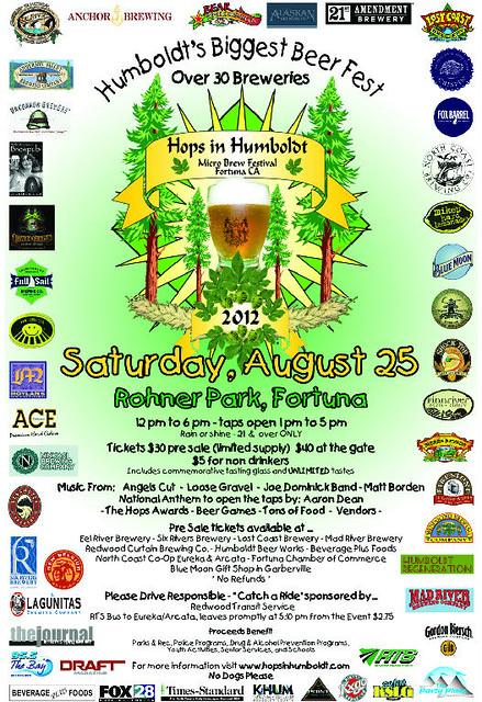 Hops In Humboldt 2012