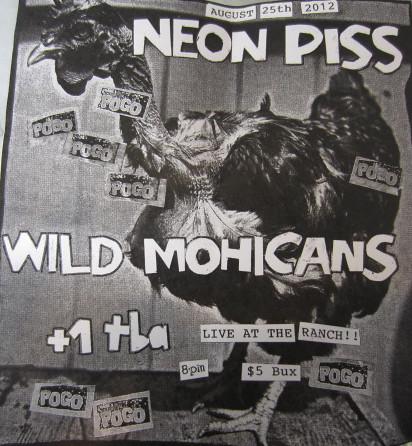 8/25/12 NeonPiss/WildMohicans