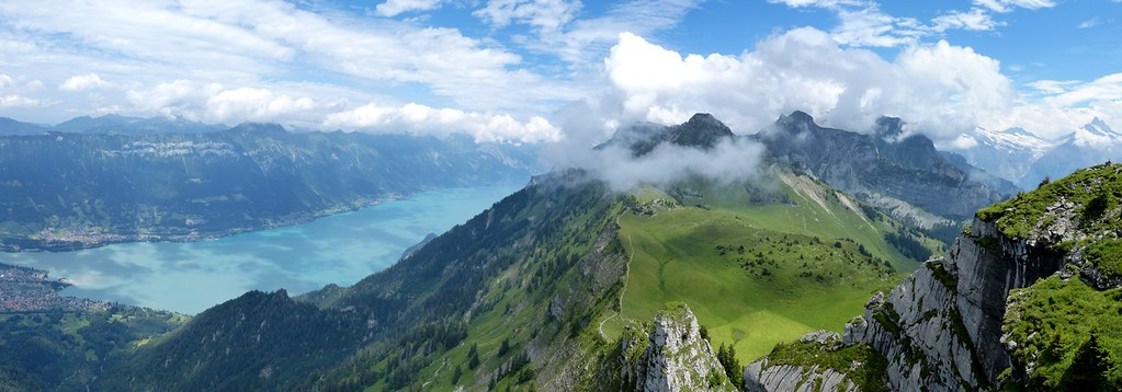 Panorama Walk from Schynige Platte, Switzerland