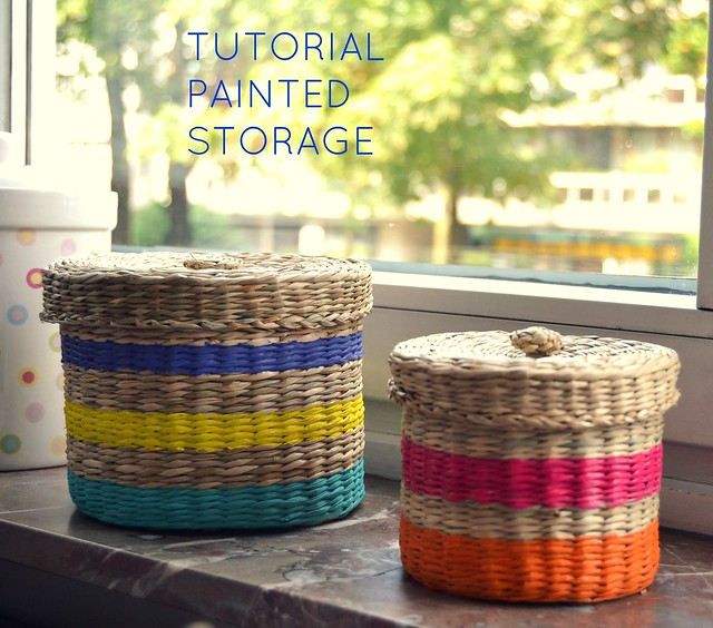 TUTORIAL PAINTED STORAGE