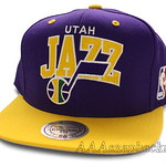 Mitchell Ness NBA Utah Jazz Snapbacks Hats Caps