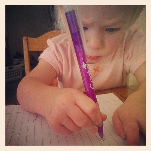 Elliora's writing grip