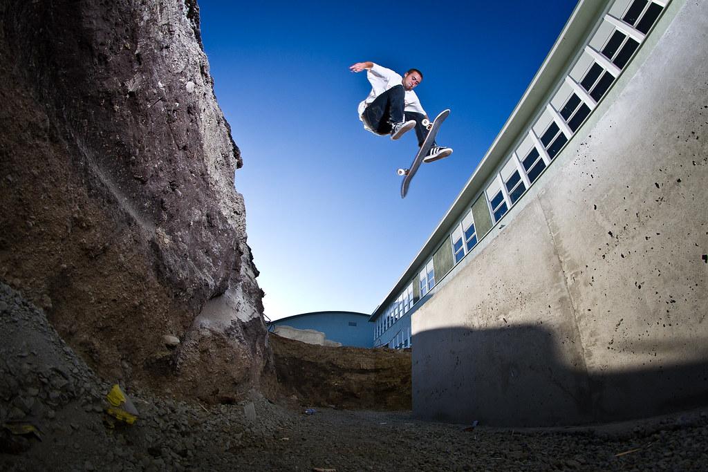 Corey Cawdell tre flip pit