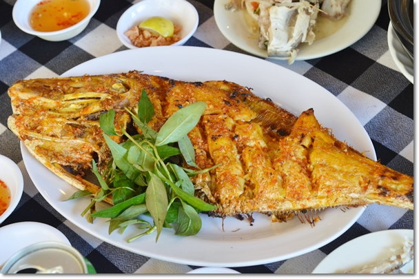 Grilled Fish Saigon Style