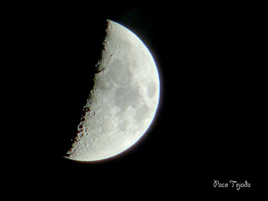 Luna en cuarto creciente luna en cuarto creciente flickr for Cuarto menguante de la luna
